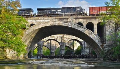 Railroad Bridges Poster