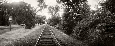 Railroad Track, Napa Valley Poster by Panoramic Images