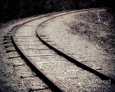 Rails Poster by Liz Masoner