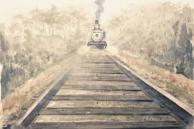 Railway Bound Poster