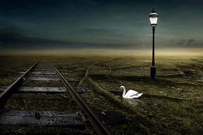 Railway Poster by Johan Lilja