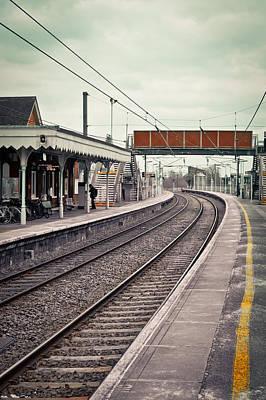 Railway Station Poster by Tom Gowanlock