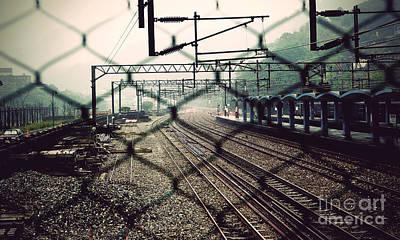 Railway Station Poster