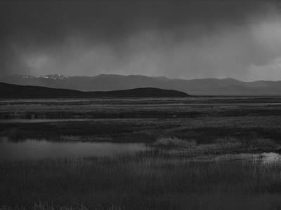 Rain At The Marshes Poster by Jenessa Rahn