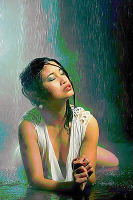 Rain Down On Me Poster by  Fli Art