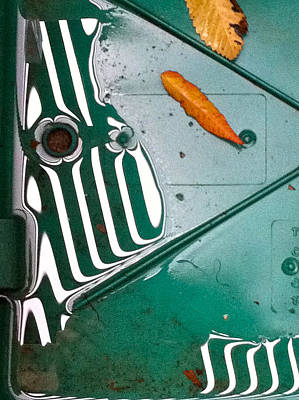 Rain Reflections Poster by Bill Owen