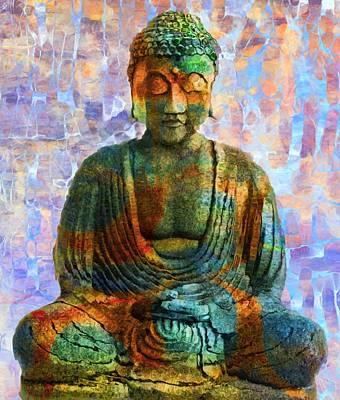 Rainbow Buddha Poster by Dan Sproul