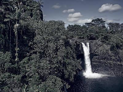 Rainbow Falls - Hawaii Poster