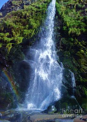 Poster featuring the photograph Rainbow Falls by John Williams