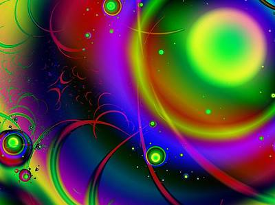 Rainbow Halo Poster