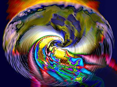 Rainbow Liberty V.5 Poster