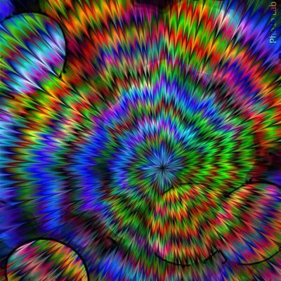 Rainbow Super Nova Poster