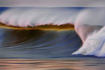 Poster featuring the photograph Rainbow Wave  C6j2648 by David Orias