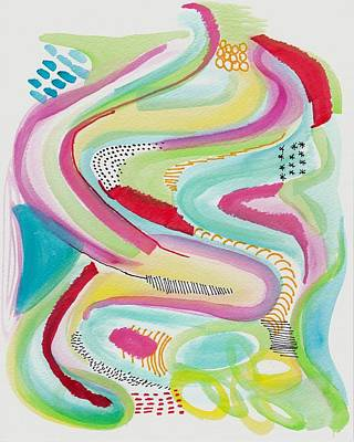 Rainbow Wave Poster