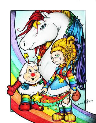 Rainbows Briter Poster