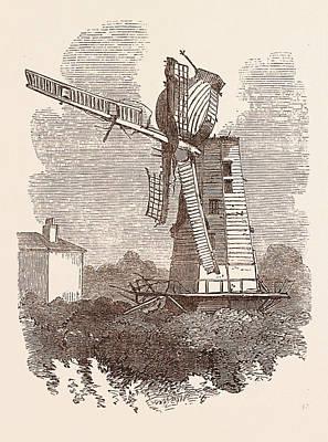 Rainsford Mill, Colchester Poster