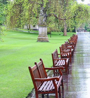 Rainy Day In Edinburgh 6345 Poster
