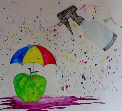 Rainy Day Poster by Isaac Alcantar