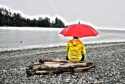 Rainy Day Meditation Poster