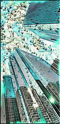 Rainy Day Nyc  Poster by Daniel Janda
