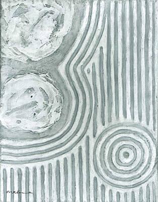 Raked Zen Whirlpool Poster