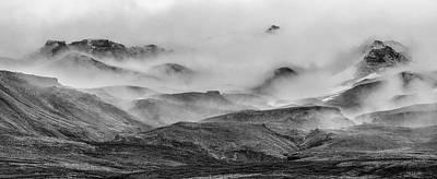 Ramble Thru The Mountains II Poster by Jon Glaser