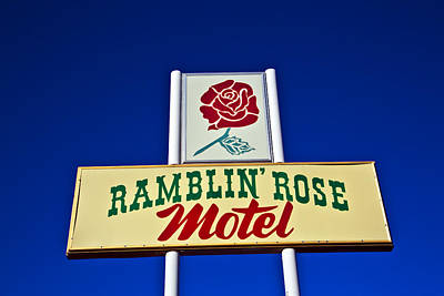 Ramblin' Rose Motel Poster