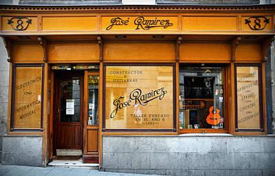 Ramirez Guitars Workshop Poster