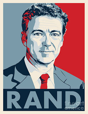 Rand Paul Poster by John Lehman