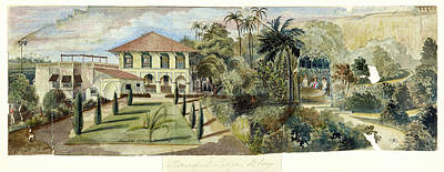 Randall Lodge Complex In Bombay Poster by British Library