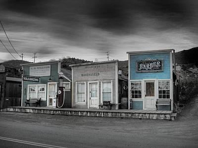 Randsburg Gas Station And Shops Poster