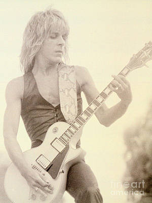 Randy Rhoads-day On The Green 7-4-81 Poster