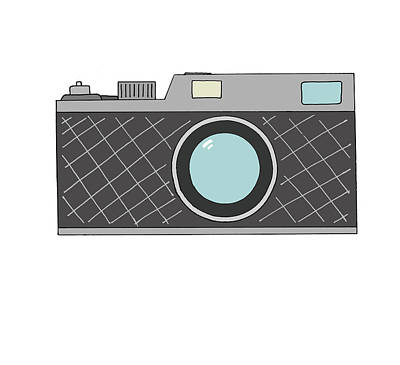 Rangefinder Camera Poster by Jonny White