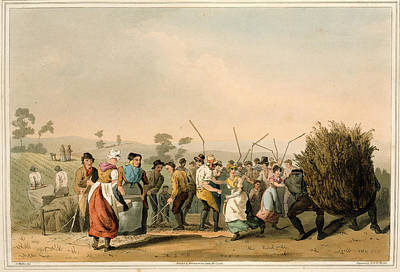 Rape Threshing Poster by British Library