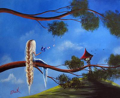 Original Fantasy Art By Shawna Erback Poster by Shawna Erback
