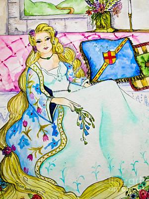 Rapunzel - Fairy Tale Art Poster