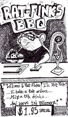 Rat Pete Poster