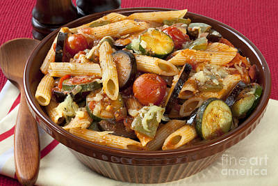 Ratatouille Pasta Bake Poster by Colin and Linda McKie