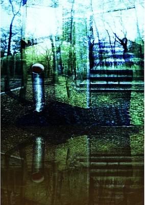Raumland 01 Poster by Gertrude Scheffler