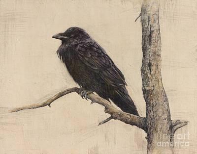 Raven Poster by Lori  McNee