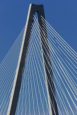 Ravenel Bridge Poster by Jenny Hudson