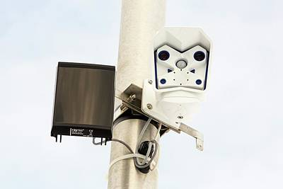 Ray Tec Camera Monitoring Device Poster by Ashley Cooper