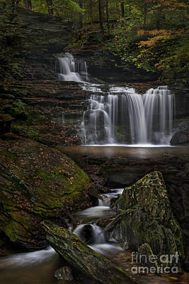 Poster featuring the photograph Rb Ricketts Falls by Roman Kurywczak