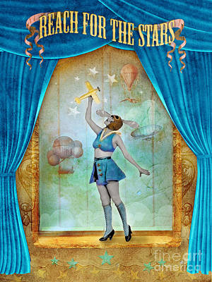 Reach For The Stars Poster by Aimee Stewart