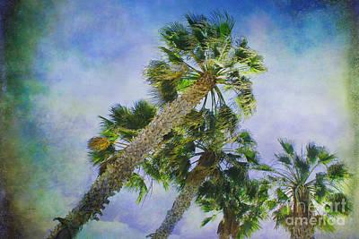 Reaching Heaven 2 - Landscape Orientation Poster by Claudia Ellis