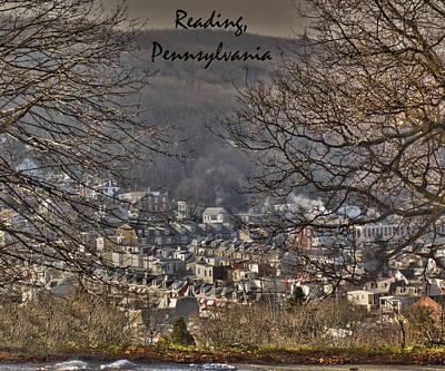 Reading Pennsylvania Poster by Trish Tritz