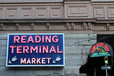 Reading Terminal Market Poster by David Rucker