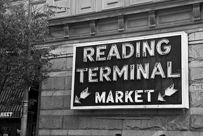 Reading Terminal Market Poster by Jennifer Ancker