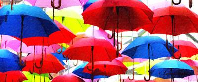 Ready For Rain Poster by Lynne Jenkins