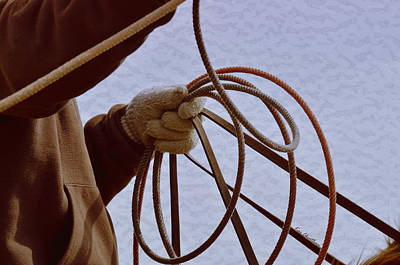 Ready To Rope Poster by Kae Cheatham